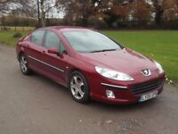 ***SPARES/REPAIRS*** 2006 PEUGEOT 407 2.0 HDI, MOT JAN 2018, NOISY CLUTCH, ONLY £325