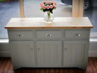 Solid Pine Sideboard - Stunning Quality ( Cabinet   Unit   Dresser   Side Board )