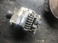 05 MERCEDES C180 PETROL ALTERNATOR WORKING GOOD