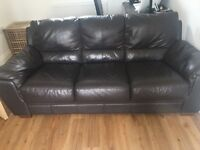 Two three seater sofas £150!Collection only. Good condition!