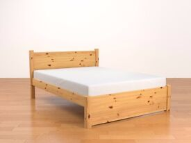 Taurus Beds 'Montrose' Pine double bed