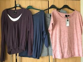Ladies assorted Bench tops size xl