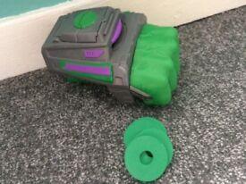 bargain-IMMACULATE Hulk smash shooting glove