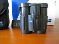 Zeiss Victory 8 x 32 FL T* binoculars; Optically Superb with their latest LotuTec lens coating,