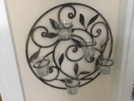 Unusual tealights holder