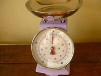 Kitchen scales [ NEW] colour mauve