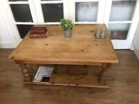 EXTRA LARGE VICTORIAN COFFEE TABLE FREE DELIVERY LDN GENUINE 🇬🇧🇬🇧