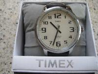 TIMEX LARGE FACE 'INDIGLO' WATCH