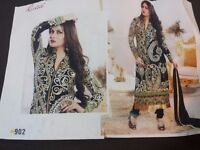 Designer Partywear Unstitched Salwar Kameez
