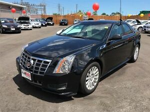 2012 CADILLAC CTS BASE - PANORAMIC SUNROOF, LEATHER, SATELLITE R