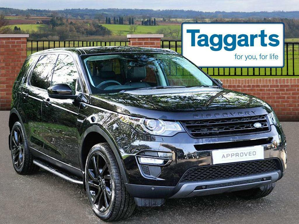 land rover discovery sport td4 hse black black 2016 09 30 in southside glasgow gumtree. Black Bedroom Furniture Sets. Home Design Ideas