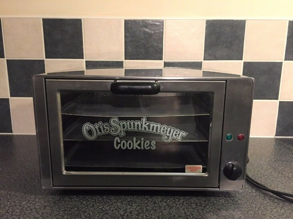 otis spunkmeyer stainless steel counter convection cookie oven