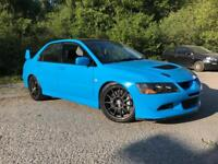 SWAPS? Evo 7, 56k, Porsche riveira blue one off, 400bhp.skyline,bmw,focus rs,audi,gti