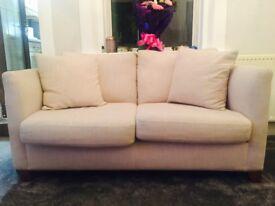 2 X two seater sofas. NEXT