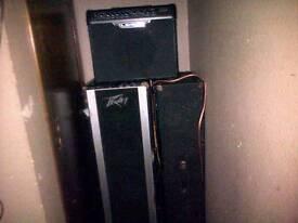 Peavey speakers x2 bargain!