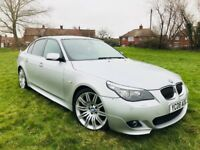 BMW 525 Facelift M Sport Automatic Full Service History & 11 Months Mot 2008 Silver