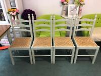 X4 dining chairs