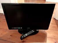 """LOGIK DIGITAL 22"""" LCD TV DVD COMBI"""