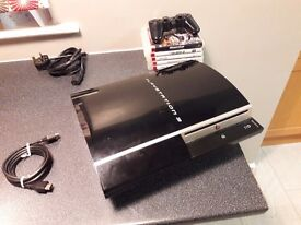 40gb Fat PS3 - With games, HDMI lead and controller