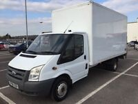 2008 FORD TRANSIT LUTON / BOX 140 T350 RWD / NEW MOT / PX WELCOME / NO VAT / WE DELIVER