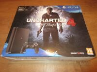 PS4 SLIM 500GB Uncharted a thief's tale bundle
