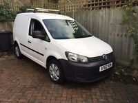 As New Caddy with half leather seats, 59K , FSH, New larger van forces reluctant sale