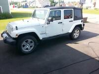 2010 Jeep Wrangler sahara unlimited SUV, Crossover