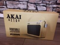 Retro portable radio Brand New!!