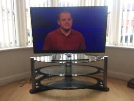 Samsung 43 inch plasma 3D HD TV with stand