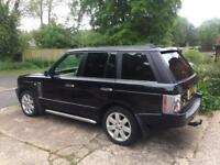 range rover taxed tested insured in black perfect condition