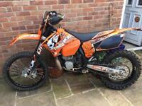 KTM EXC 300 not cr, kx or rm
