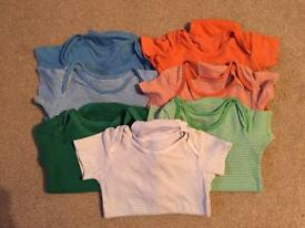 18-24 Months short sleeve vests