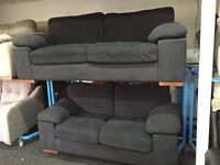 New/Ex Display Dfs 3 Seater + 2 Seater Sofas