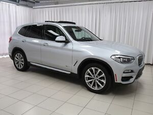 2018 BMW X3 30i x-DRIVE SUV w/ NAV, PANO ROOF, APPLE CARPLAY,