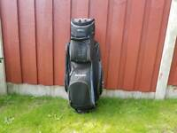 2 Golf bags (adult), clubs and junior