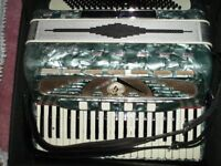 Accordion - Galanti 120 Bass - Pearlescent Turquoise - Please make offers if interested
