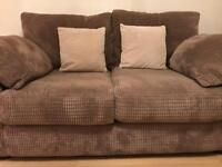 Sofa & Swivel Cuddle Chair - Like New
