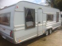 2008 Tabbert special Edition caravan for sale not / hobby / roma
