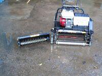 Allett c20 cylinder mower with interchangable cassette.