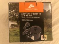 Battery Powered Airbed Pump (never used)
