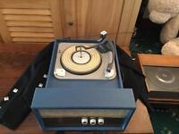 Vintage Pye record player 1950's