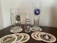 German pint glasses