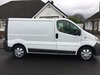 Vauxhall Vivaro 2005 12 months mot new service with timing belt