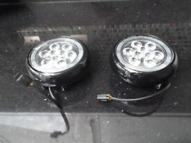 Mini Cooper Led Halo Rally lights