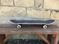"Skateboard - Custom build 8"" Deck - Tensors - Bones QUICK SALE"
