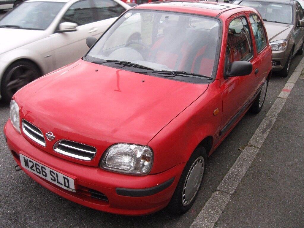 NISSAN MICRA 1.0 Litre Petrol (Manual) £595 ono (Great Runner) 1 Years MOT. (2 Keys) Ideal First Car