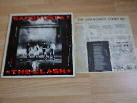 The Clash Sandinista LP Vinyl