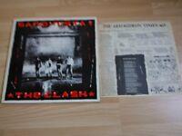 The Clash Sandinista LP Vinyl