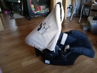 Hauck mickey mouse baby car seat
