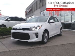 2018 Kia Rio5 EX | Executive Driven |7inch Display|Backup Camera